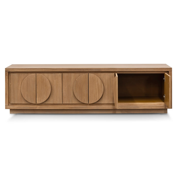Bonnie 2m Entertainment TV Unit - Dusty Oak