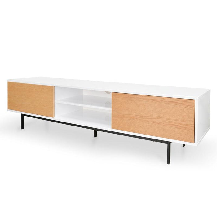 Ex Display - Blake 2m TV Entertainment Unit - Lowline - Natural