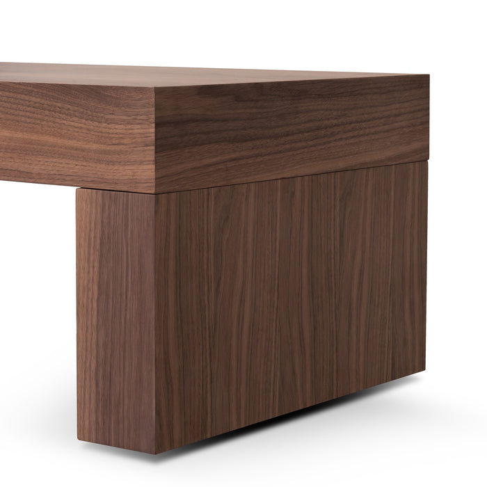 Katherine Extendable TV Entertainment Unit - Walnut Oak