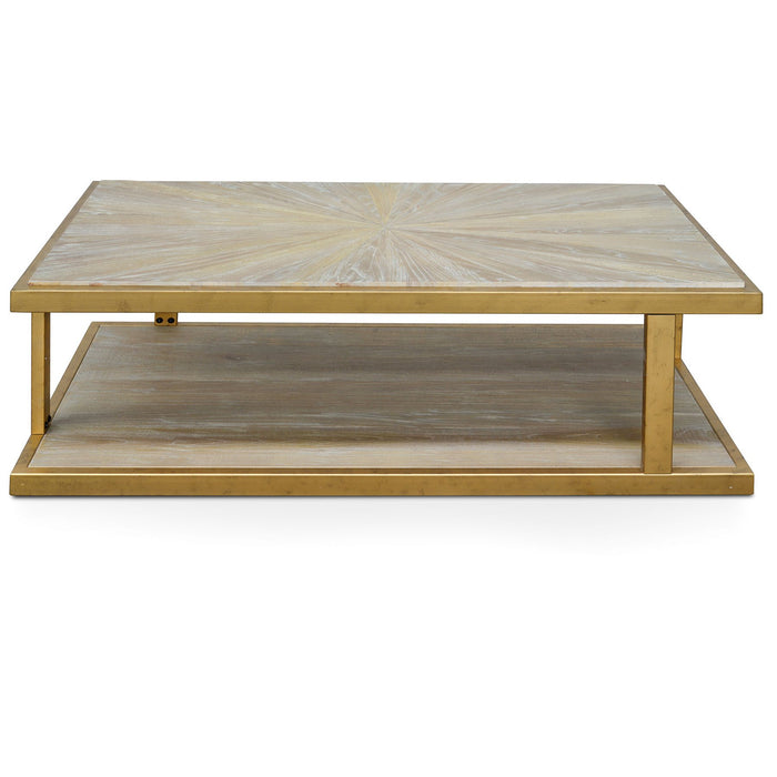 Todd 1.3m Reclaimed Elm Coffee Table