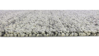 Wicklow 200cm x 290cm Wool Rug - Black White