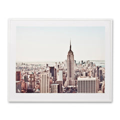 A New York Morning Photographic Wall Art Print