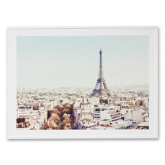 Vintage Paris Morning Wall Art Print