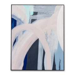 Airlie Abstract Hand Painted Wall Art Canvas