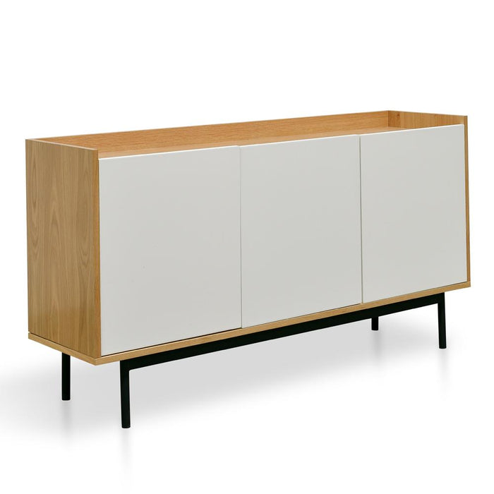 Alenzo Sideboard and Buffet - White and Natural