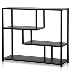Alexson Black Metal Industrial Shelving Unit