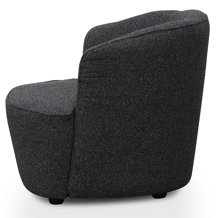Alfonzo Fabric Armchair - Dark Grey
