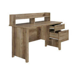 Alice 2 Drawer Timber Home Office Desk - Natural