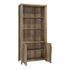Alice Timber Open Book Case - Natural