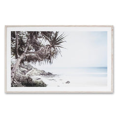 Along The Coast Framed Wall Art Print