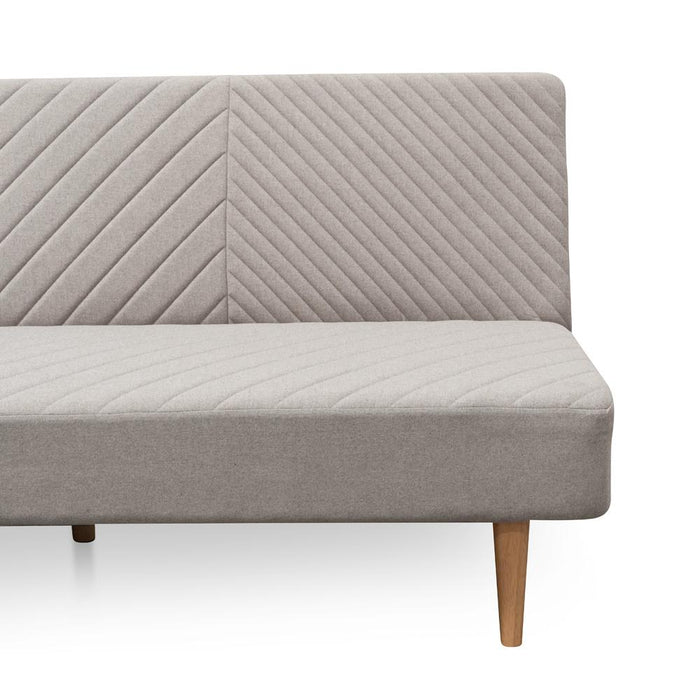 Amanda 3 Seater Sofa Bed - Light Grey