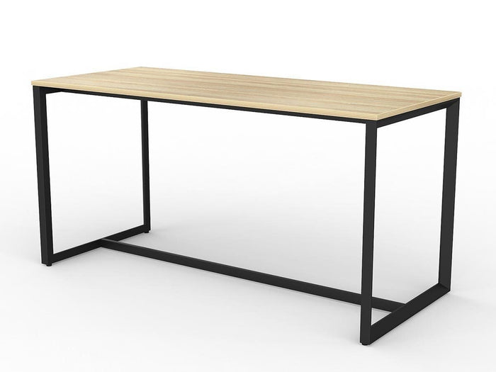 Anvil 2.1m Rectangular Bar Table - Black Frame