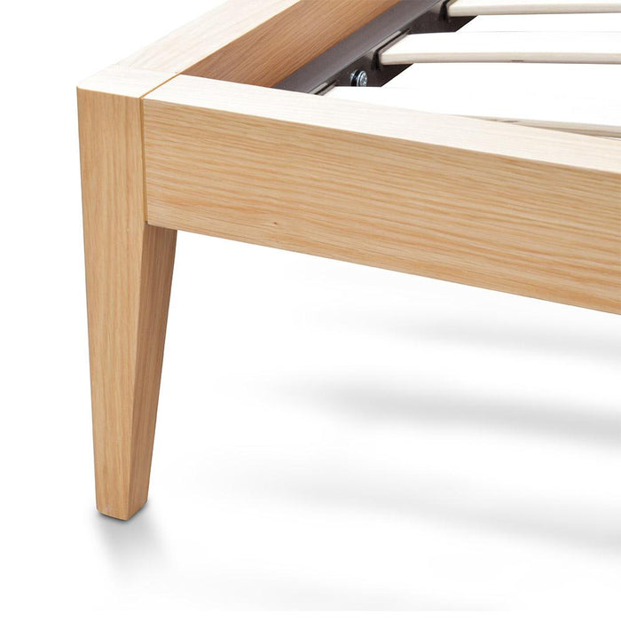 Ariane King Sized Bed Frame - Natural Oak