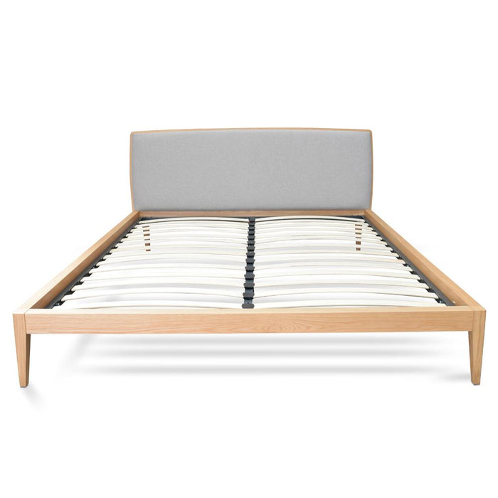 Ariane Queen Sized Bed Frame - Natural Oak