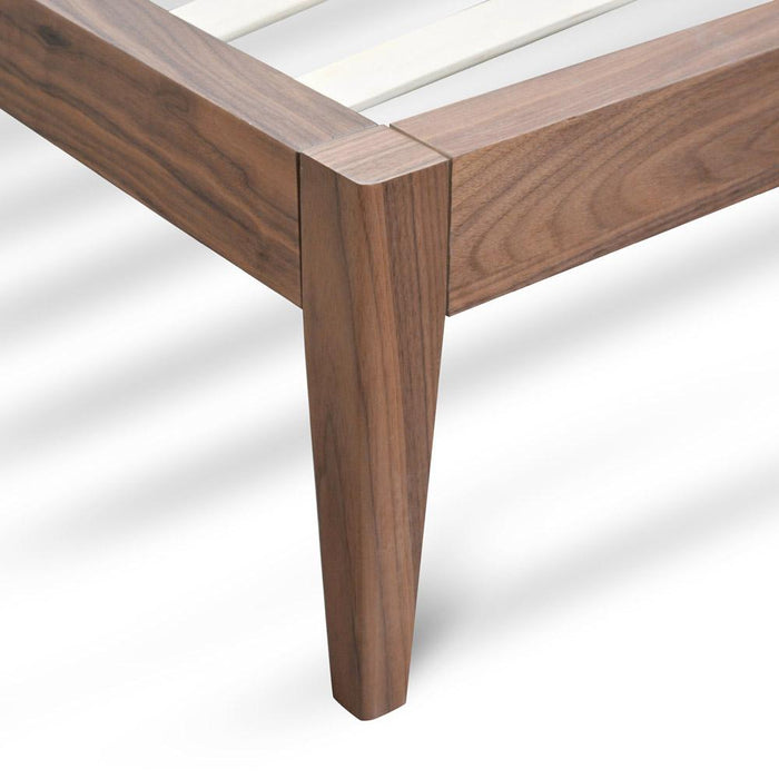 Ariane Queen Sized Bed Frame - Walnut