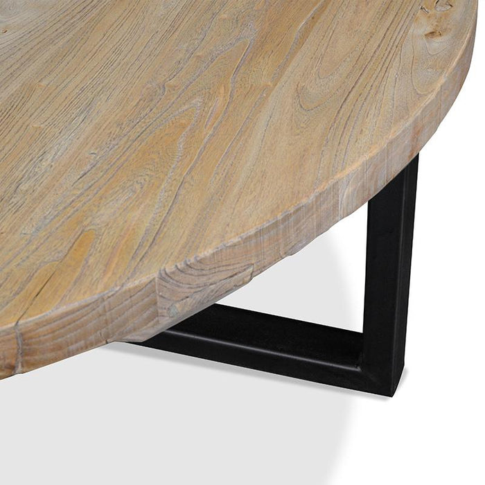 Arthur Reclaimed 100cm Round Coffee Table