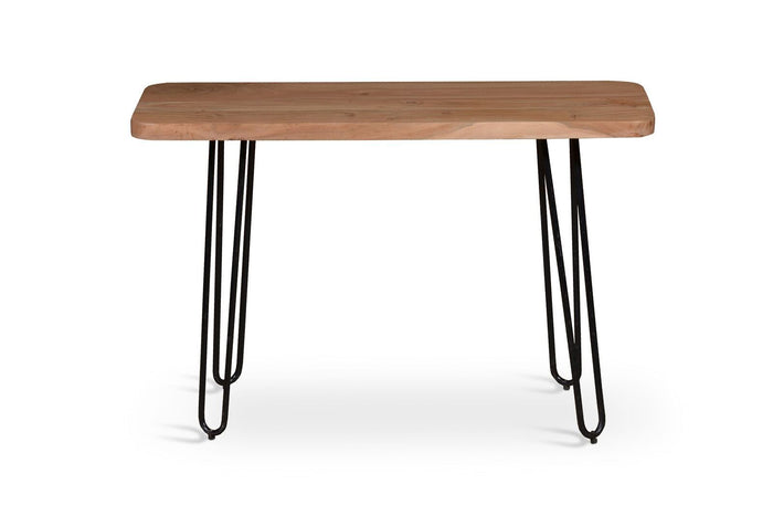 Aspen Industrial Iron and Acacia Console Table - Natural