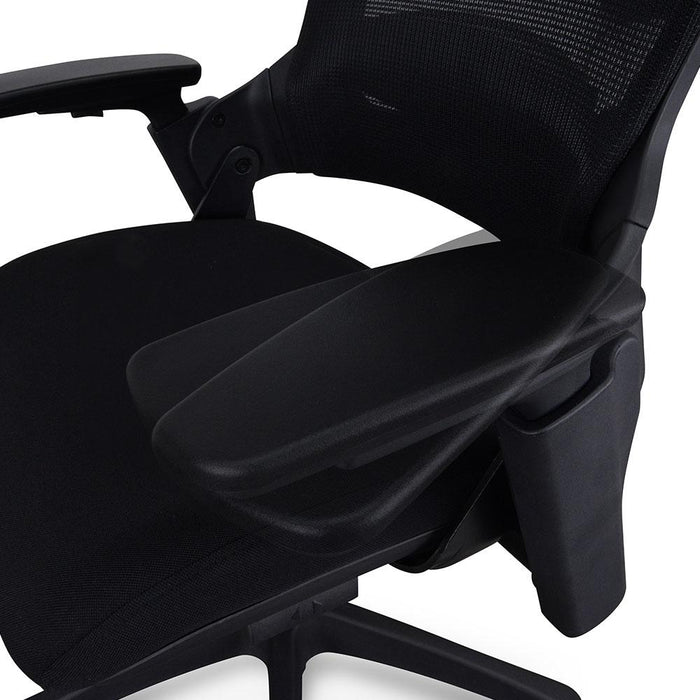 Atlas Mesh Ergonomic Office Chair - Black