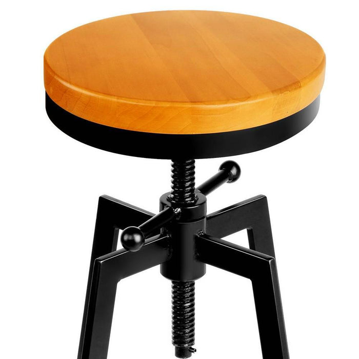Barry Adjustable Height Industrial Stool