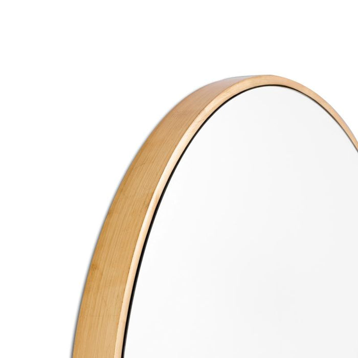 Bella Brass 100cm Round Mirror