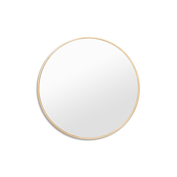Bella Brass 50cm Round Mirror