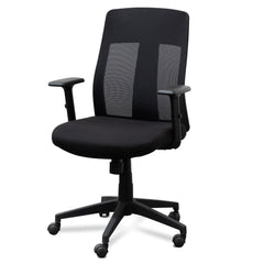 Benson Mesh Office Chair - Black