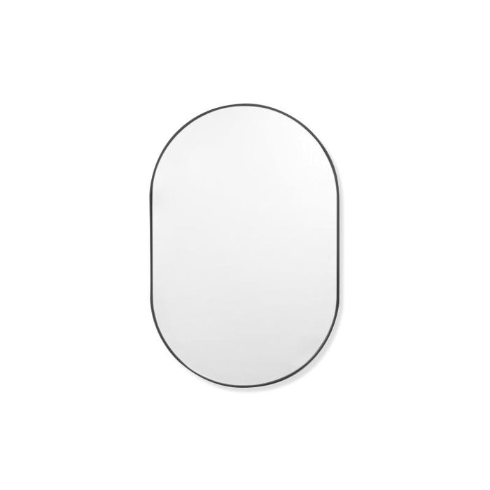 Bjorn Small Oval Mirror - Black