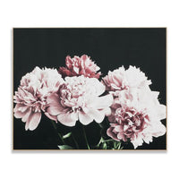 Blush Peonies Wall Art Print Canvas