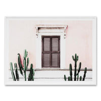 Blush Villa Wall Art Print