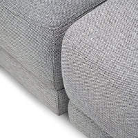 Bradford 5 Seater Corner Fabric Sofa - Oslo Grey