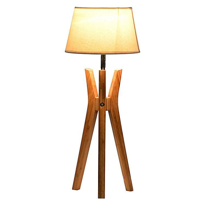 Brannon Tripod Table Lamp - White Shade