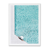 By The Pool Wall Art Print