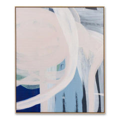 Byron I Hand Painted Abstract Wall Art Canvas