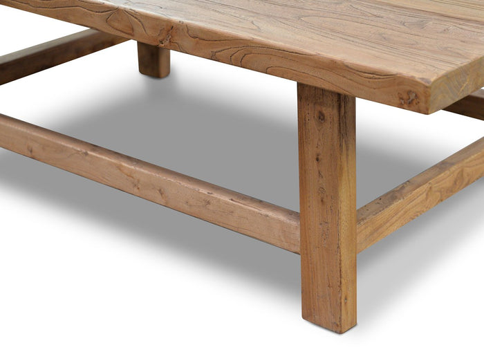 Canova 1.1m Reclaimed Wood Rectangular Coffee Table