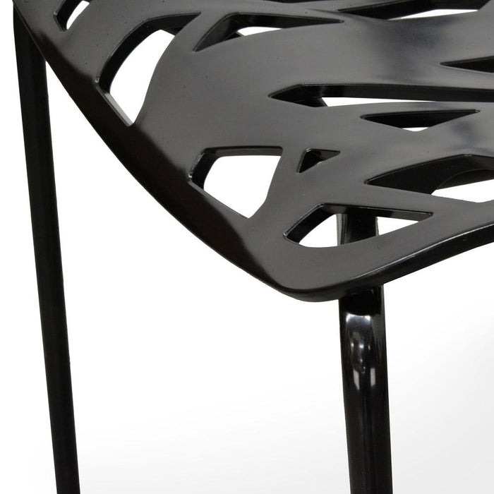 Caprice Dining Chair - Marcello Ziliani Replica - Black - Black Legs