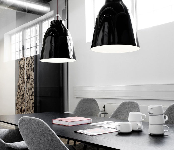Caravaggio by Lightyears Cecilie Manz 40cm Pendant - Black