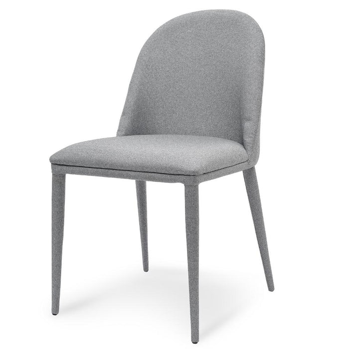Carter Fabric Dining Chair - Coin Grey