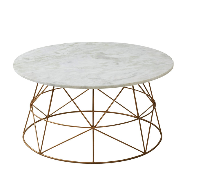 Cassian 71cm Marble Coffee Table