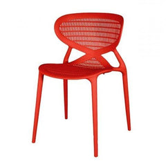 Clearance - Angel Style Red Cafe Chair