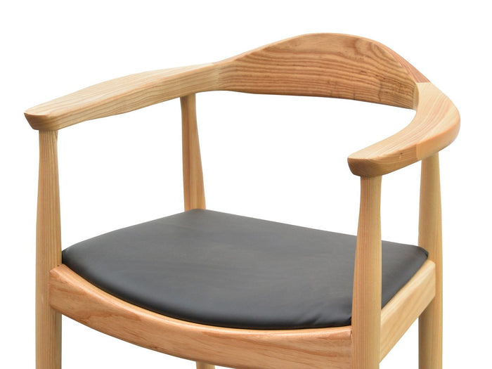 Clearance - PP503 Round Dining Armchair - Hans Wegner Replica - Natural