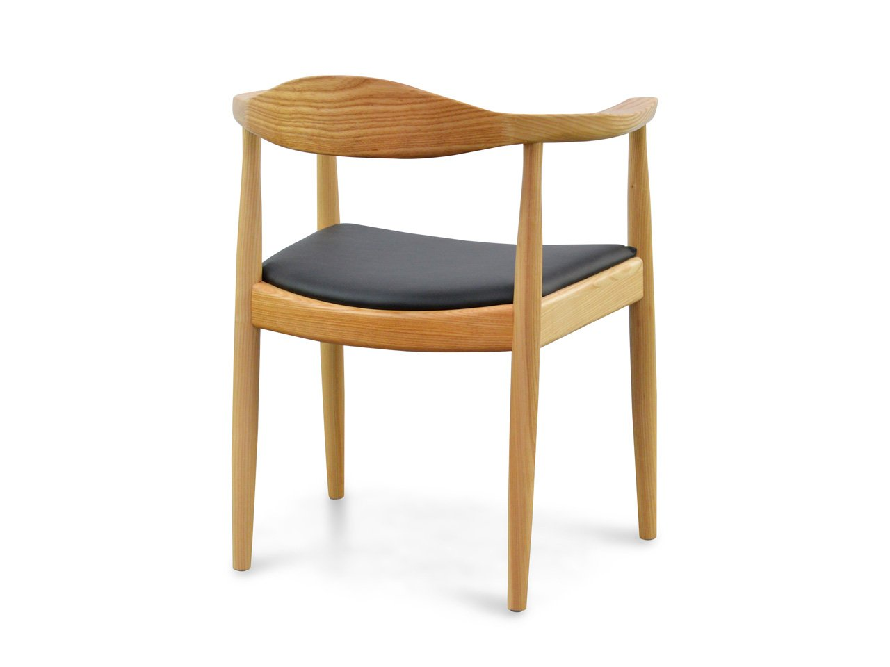 clearance pp503 round dining armchair hans wegner replica natural