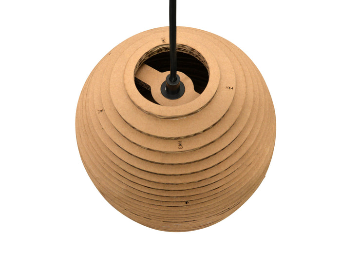 Clearance - Replica Recycled Carboard Pendant Lamp - Bell