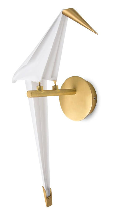 Clearance - Sparrow Wall Lamp - Golden - White