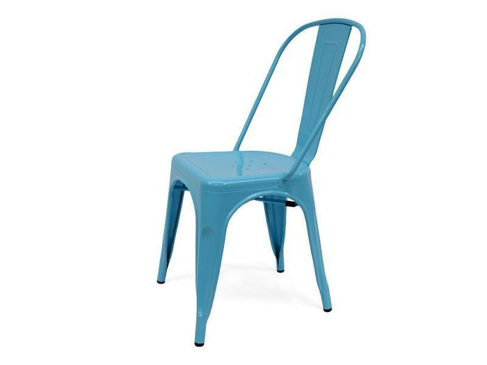 Clearance - Tolix Chair - Premium - Light Blue - Last One