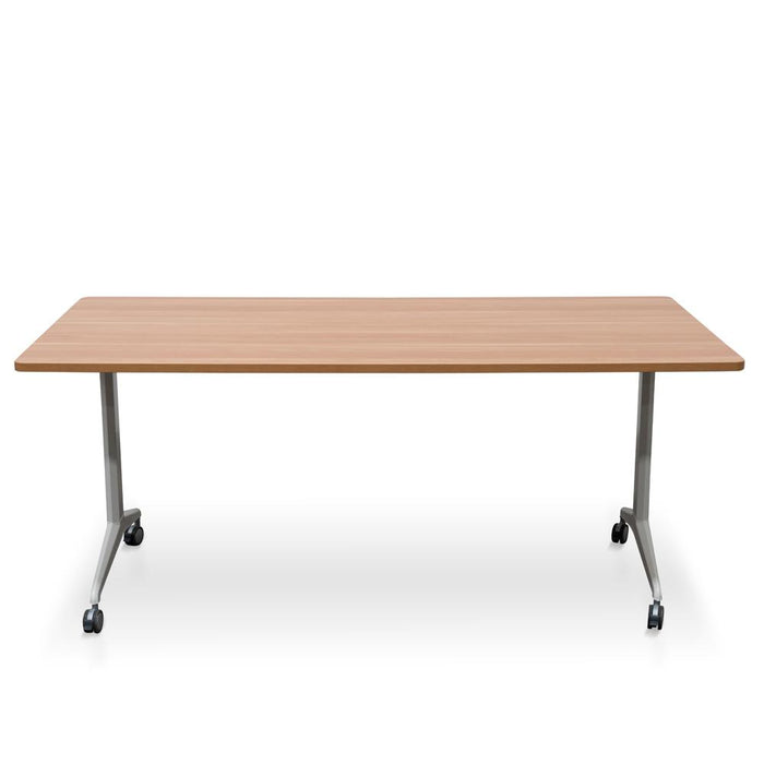 Clint Foldable Training Table – Natural