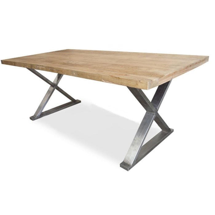 Condor Reclaimed  Dining Table 2.4m - Rustic Natural