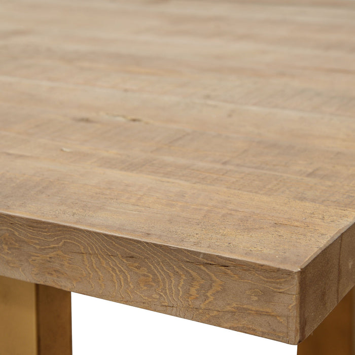 Cooper 2.2m Reclaimed Pine Dining Table