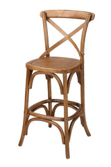 Corona Classic Cross Back Wooden 68cm Bar Stool