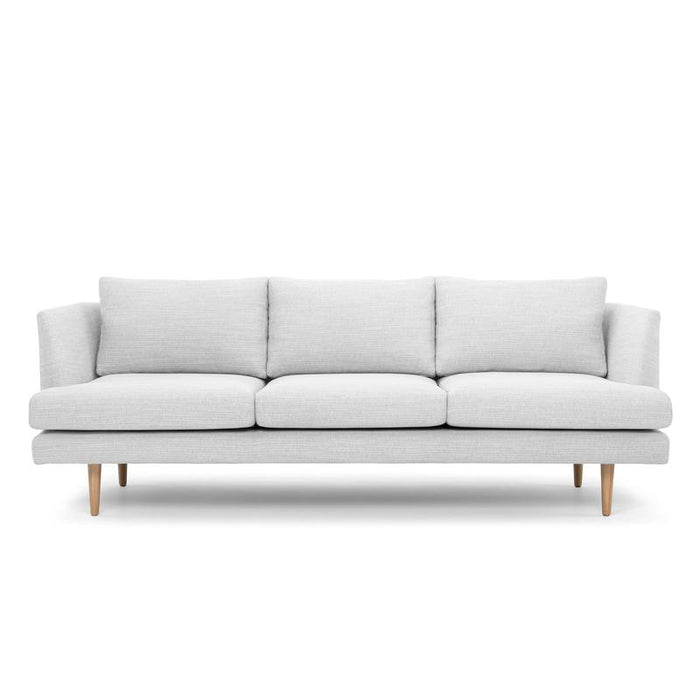 Denmark 3 Seater Sofa - Light Texture Grey