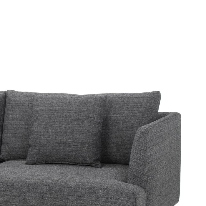 Denmark 4 Seater Sofa - Metal Grey